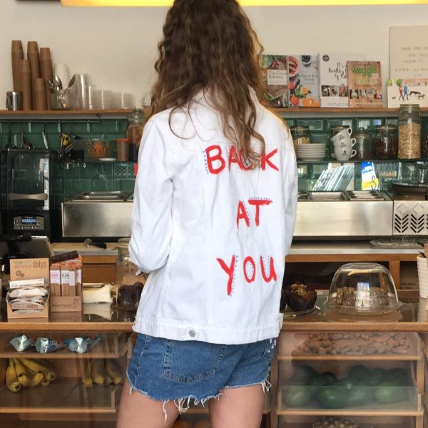 Back at you – SOLD OUT